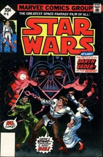 Star Wars (1977) 4-F by Marvel