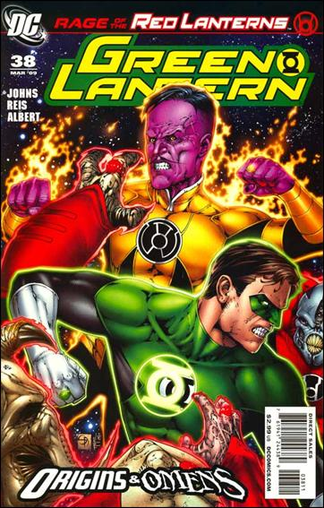 Green Lantern (2005) 38-A by DC