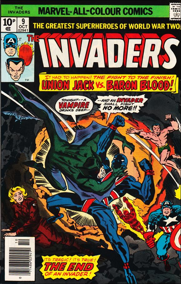 Invaders (1975) 9-B by Marvel