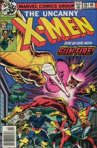 X-Men (1963) 118-A by Marvel