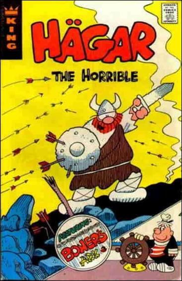Hagar The Horrible R 9 A Jan 1973 Comic Book By King