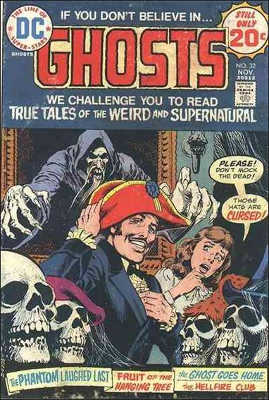 Ghosts (1971) 32-A by DC