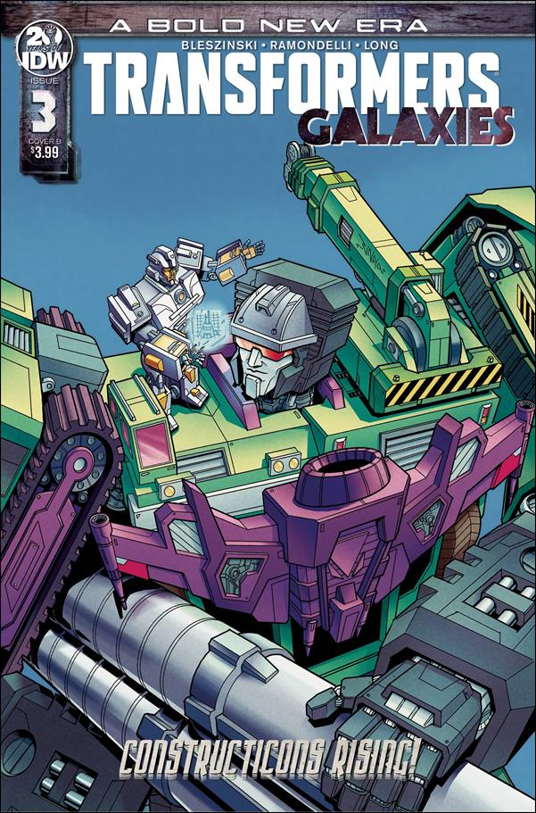 Transformers: Galaxies 3-B by IDW