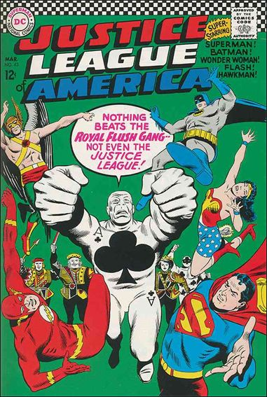 Justice League of America (1960) 43-A by DC