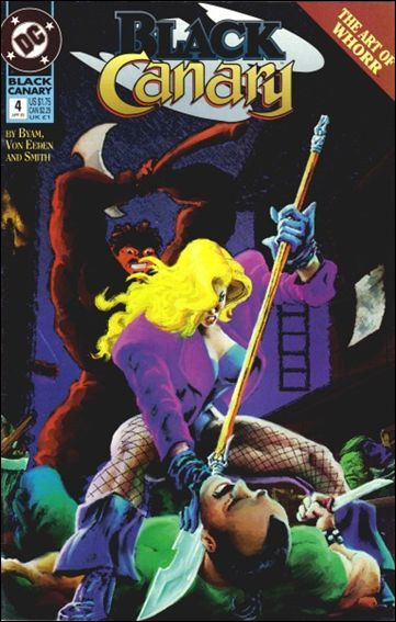 Black Canary (1993) 4-A by DC