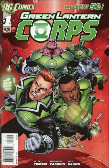 Green Lantern Corps (2011) 1-B by DC