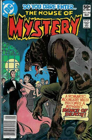 House of Mystery (1951) 292-A by DC