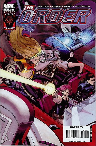 Order (2007) 8-A by Marvel