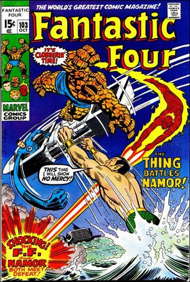 Fantastic Four (1961) 103-A by Marvel