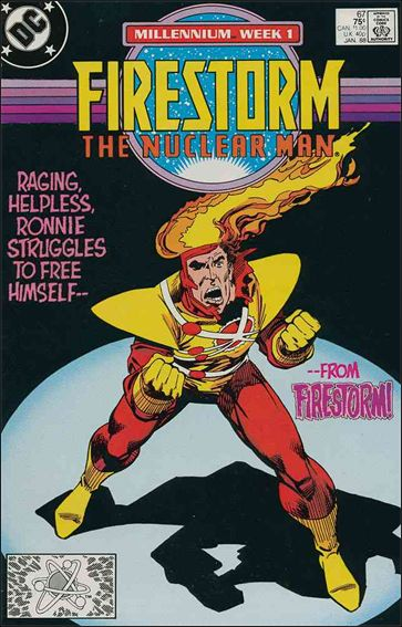 Firestorm The Nuclear Man (1987) 67-A by DC