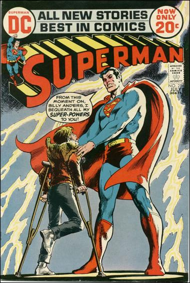 Superman (1939) 254-A by DC