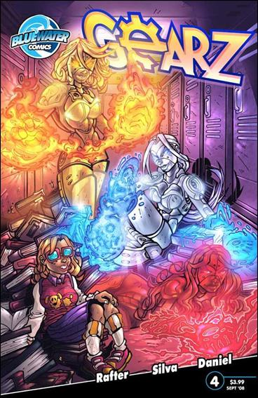 Gearz 4-B by Bluewater Comics