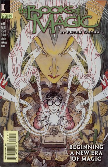 Books of Magic (1994) 51-A by Vertigo