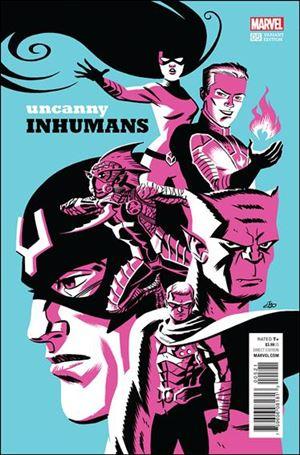 Uncanny Inhumans 5-D