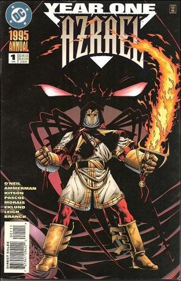 Azrael Annual 1-A by DC