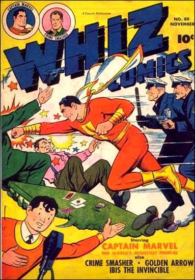 Whiz Comics 80-A by Fawcett