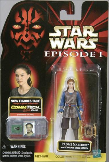 "Star Wars: Episode I 3 3/4"" Basic Action Figures Padme Naberrie (No Logos) by Hasbro"
