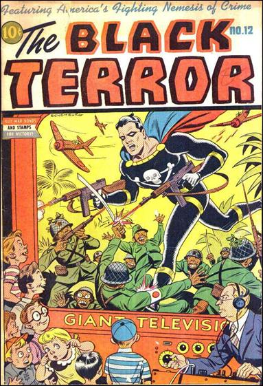 Black Terror (1942) 12-A by Nedor