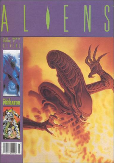 Aliens (UK) (1991) 2-A by Trident Comics
