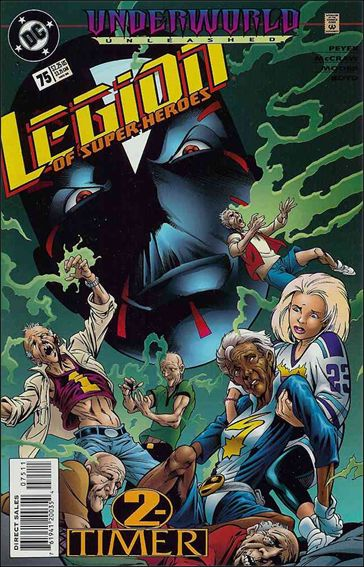 Legion of Super-Heroes (1989) 75-A by DC