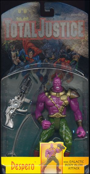 Total Justice Despero (Galactic Body Blow Attack) by Kenner