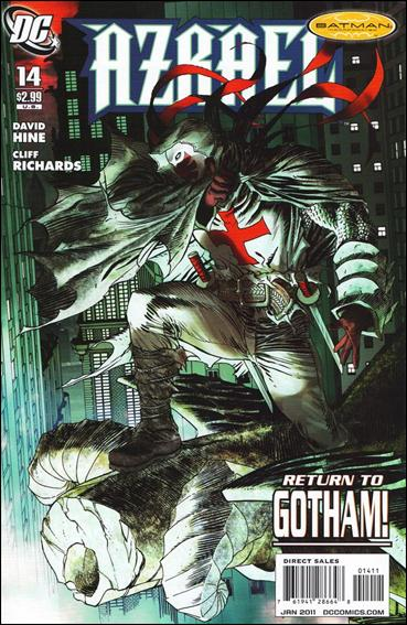 Azrael (2009) 14-A by DC