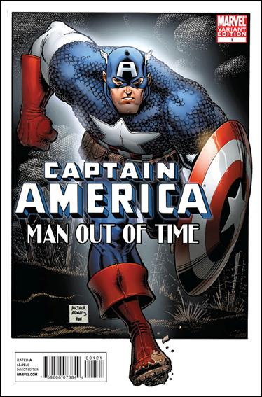 Captain America: Man Out of Time 1-B by Marvel