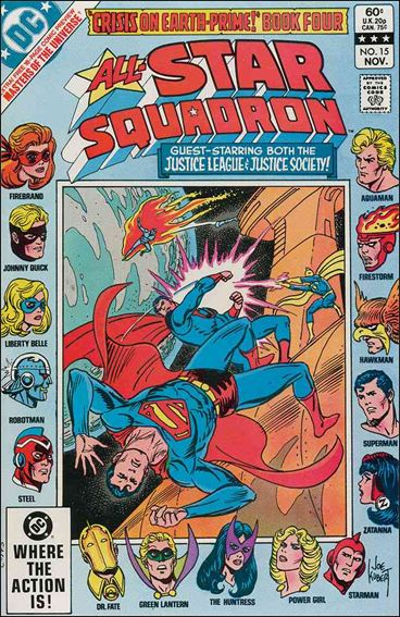 All-Star Squadron 15-A by DC