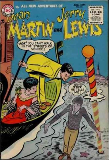 Adventures of Dean Martin & Jerry Lewis 23-A by DC