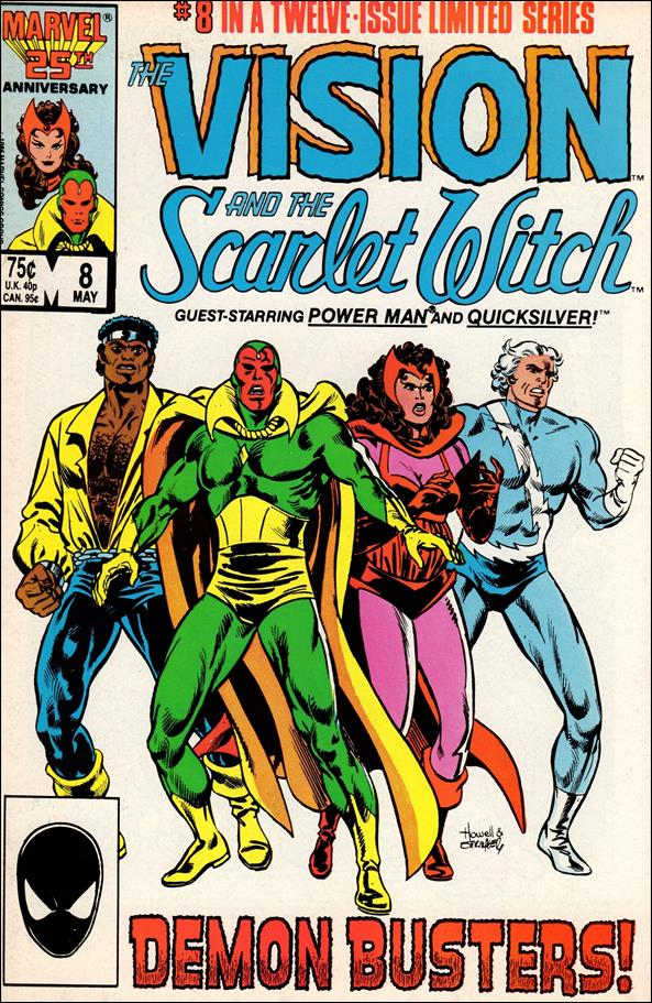 Vision and the Scarlet Witch (1985) 8-A by Marvel