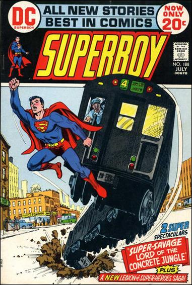 Superboy (1949) 188-A by DC