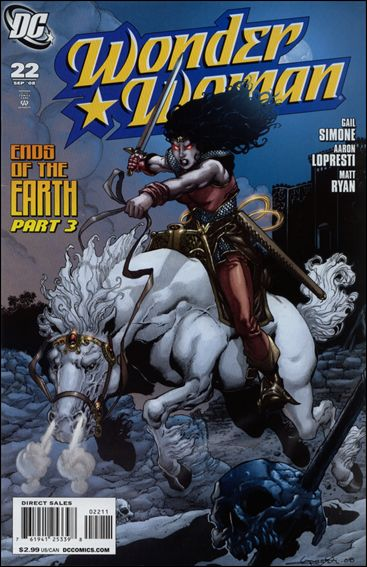 Wonder Woman (2006) 22-A by DC