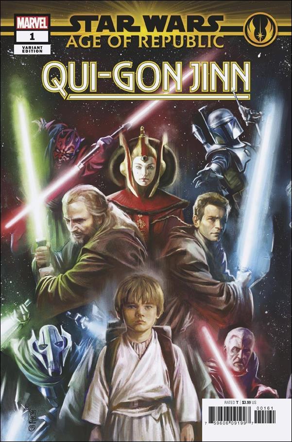 Star Wars: Age of Republic - Qui-Gon Jinn 1-D by Marvel