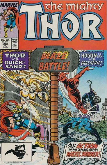 Thor (1966) 393-A by Marvel