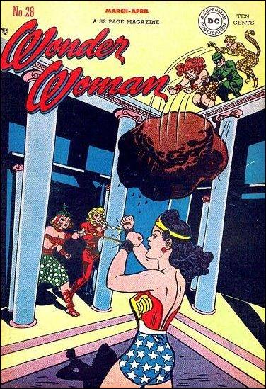 Wonder Woman (1942) 28-A by DC