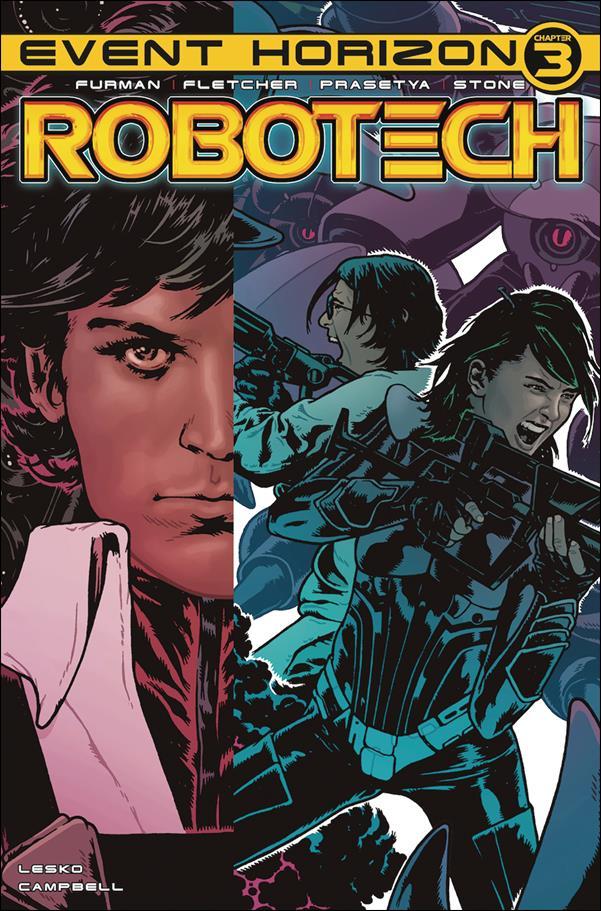 Robotech (2017) 23-A by Titan