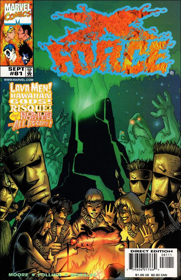 X-Force (1991) 81-A by Marvel