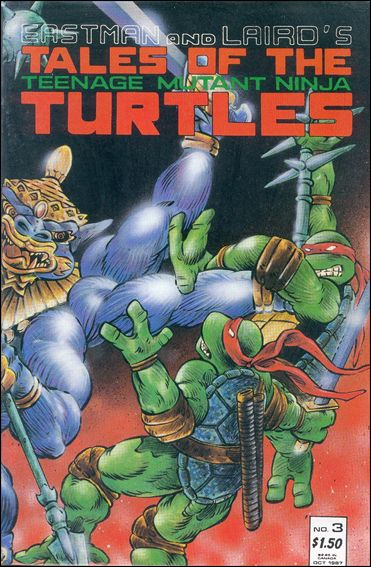 Tales of the Teenage Mutant Ninja Turtles 3-A by Mirage