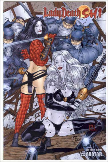 Lady Death/Shi 0-E by Avatar Press