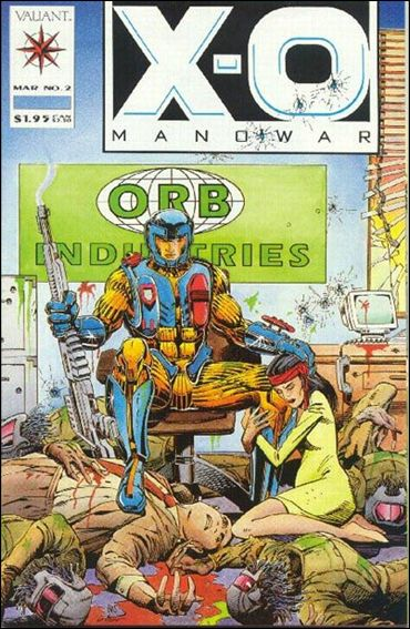 X-O Manowar (1992) 2-A by Valiant