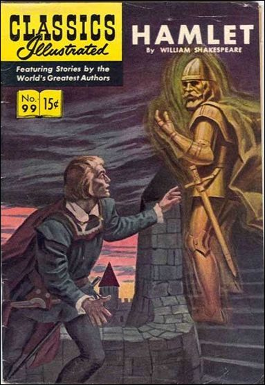 Classic Comics/Classics Illustrated 99-A by Gilberton