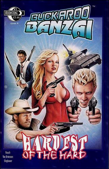 Buckaroo Banzai Hardest of the Hard 1-A by Moonstone