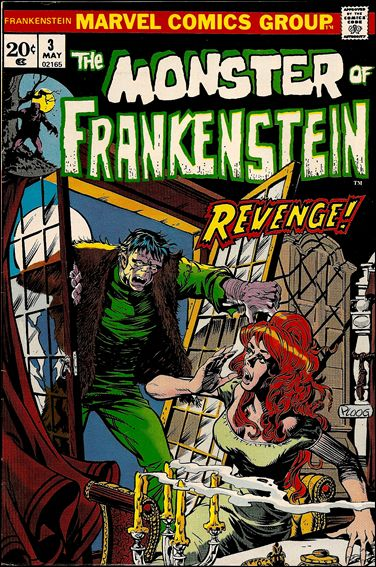 Frankenstein (1973) 3-A by Marvel