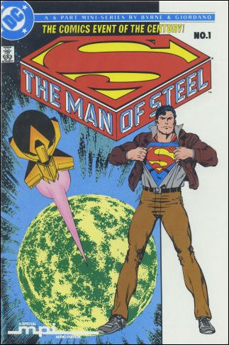 Man of Steel 1-C by DC