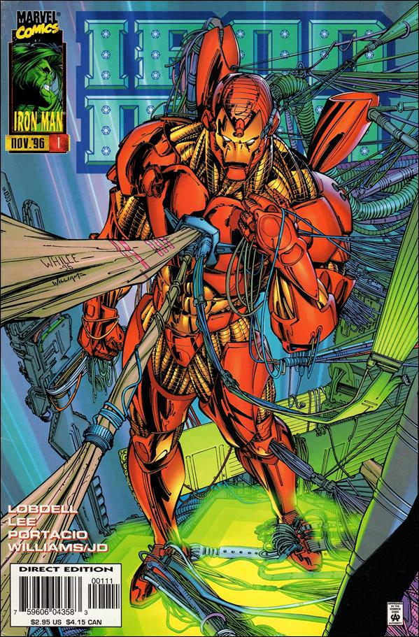 Iron Man (1996) 1-A by Marvel