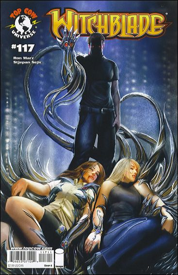 Witchblade 117-A by Top Cow