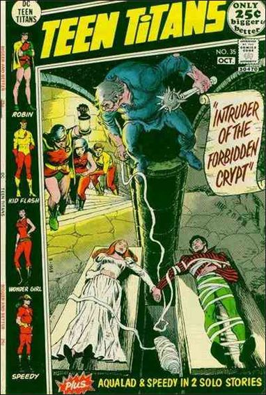 Teen Titans (1966) 35-A by DC