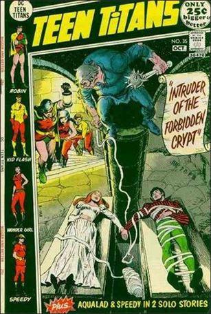 Teen Titans (1966) 35-A