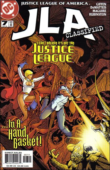 JLA: Classified 7-A by DC