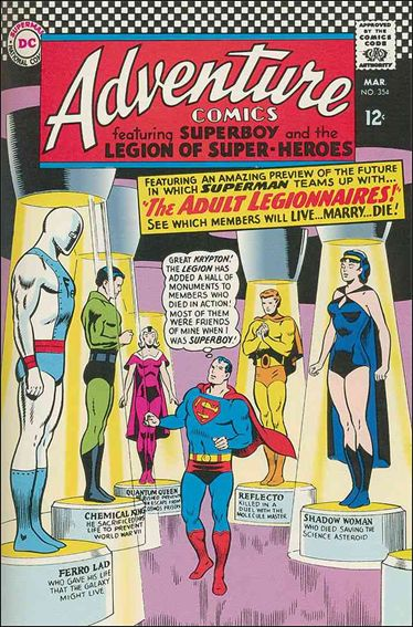 Adventure Comics (1938) 354-A by DC